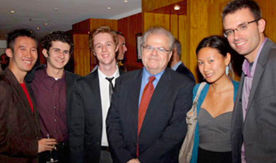 Emanuel Ax with Studients